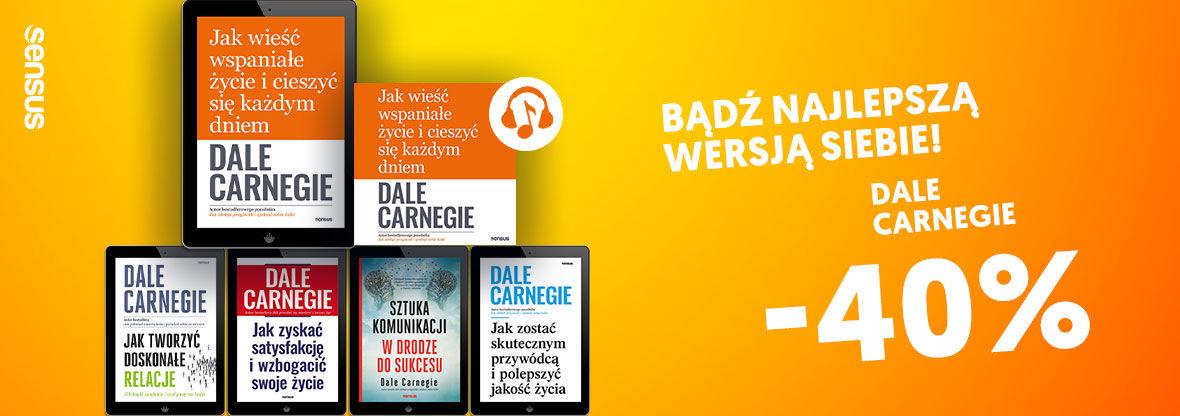 Promocja na ebooki Dale Carnegie [-40%]